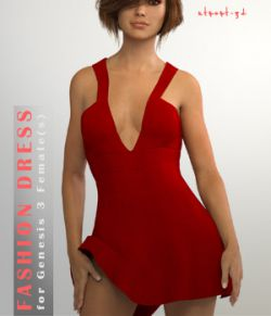 Fashion Dress for Genesis 3 Female