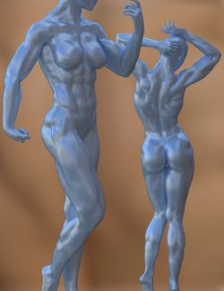 Musculature HD Morphs for Genesis 3 Female(s)