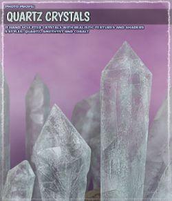 Photo Props: Quartz Crystals