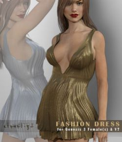 FashionDress02 for Genesis 3 Female