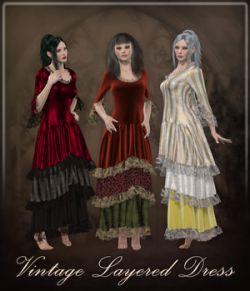 Vintage Layered Dress Dynamic