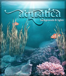 Aquatica: Backgrounds & Lights!