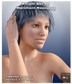 Xtrem Ser 02 Merchant Resource for Genesis 3 Female