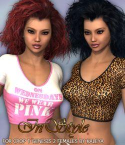 InStyle- Crop T Genesis 2 Females