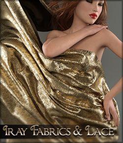 SV's Iray Fabrics & Lace Shaders