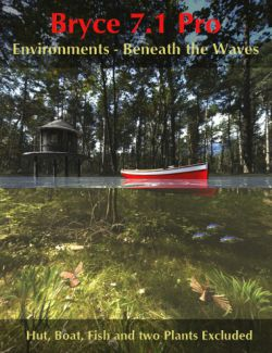 Bryce 7.1 Pro- Environments- Beneath the Waves