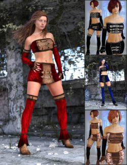 Bandeau Outfit for Genesis 2 Female(s) and Genesis 3 Female(s)
