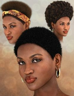 Nuru Hair for Genesis 2 Female(s)
