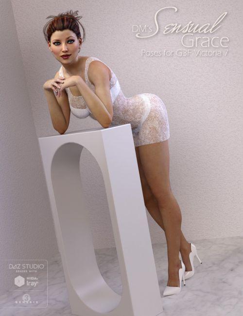 Dm S Sensual Grace 3d Models For Poser And Daz Studio