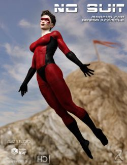 No Suit Morphs for Genesis 3 Female(s)