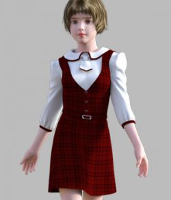GaoDan Uniforms 11 for Genesis 3 Female(s)
