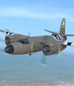 B-26 Marauder (for Poser)