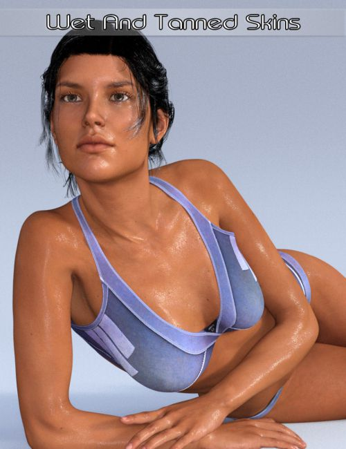 Wet and Tanned Skins for Genesis 2