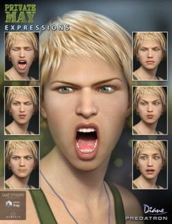 Private May Expressions for Genesis 3 Female(s)