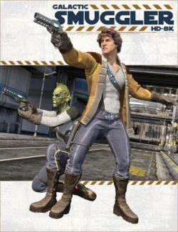 Galactic Smuggler HD-8K for Genesis 2 Male(s)