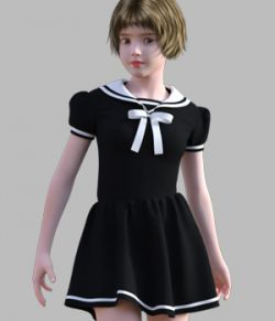 GaoDan Uniforms 12 for Genesis 3 Female(s)