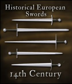 Historical European Swords: 14th Century - Extended License