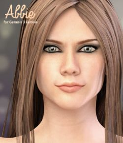Abbie for Genesis 3 Female