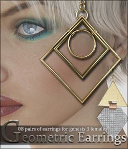 SV's Geometrics Earrings G3