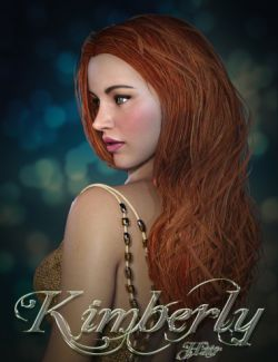 Kimberly Hair for Genesis 2 Female(s) and Genesis 3 Female(s)