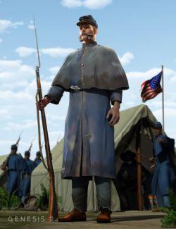 Shenandoah: Greatcoat for Genesis 2 Male(s)