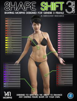 Shape Shift for Genesis 3 Female(s)