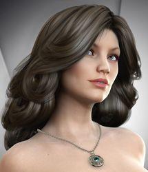 Xanadu Hair for Genesis 3 Female