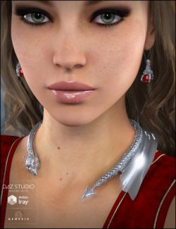 Dragonia Jewelry for Genesis 3 Female(s)