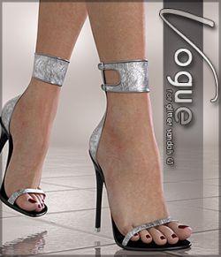 Vogue for Glitter Sandals