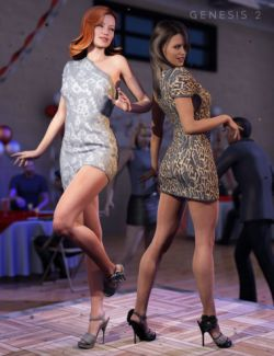 High Rise Party Dress Textures