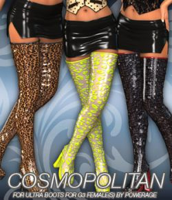 COSMOPOLITAN - Ultra Boots for G3 female(s)