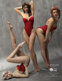 The Spirit of '45- Pinup Poses for Genesis 3 Female(s)