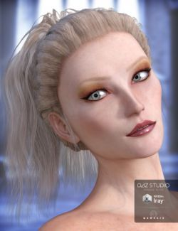 Lady Rune Updo for Genesis 3 Female(s) and Genesis 2 Female(s)