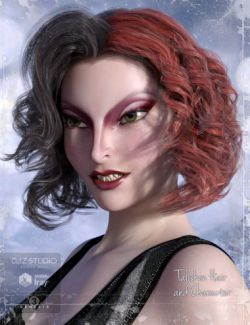 Talisken Character and Hair for Genesis 3 Female(s)