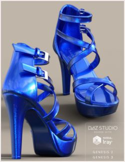 Roma Heels Bundle for Genesis 2 & Genesis 3 Female(s)