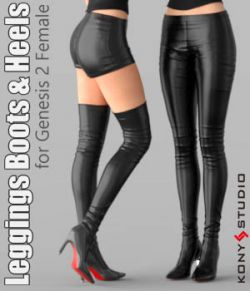 Leggings Boots & Heels for G2F