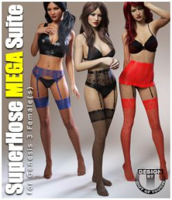 SuperHose Infinite MEGA Suite for Genesis 3 Female(s)