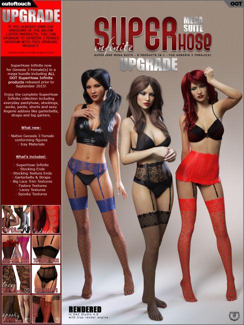 SuperHose Infinite MEGA Suite for Genesis 3 Female(s) - Upgrade