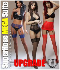 SuperHose Infinite MEGA Suite for Genesis 3 Female(s)- Upgrade