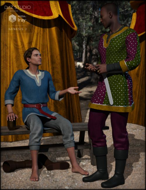 Alfred's Finery for Genesis 2 Male(s)