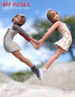 BFF Poses for Rayn and Skyler Genesis 2 Female