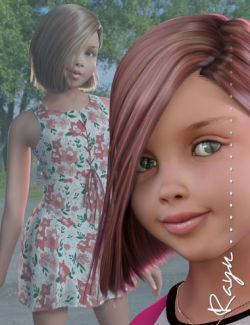 Rayn Character and Hair for Genesis 3 Female(s)