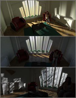 Longitude & Latitude Lighting and Render Presets for DS Iray