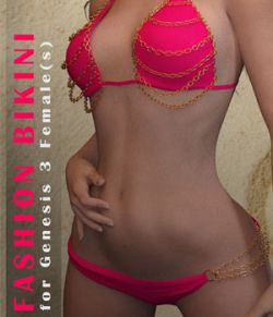 Fashion Bikini for Genesis 3 Female