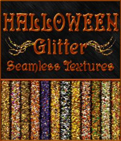BLING! Glamour HALLOWEEN Glitter Texture Pack