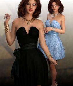 Lillian Dress For Genesis 3 Female