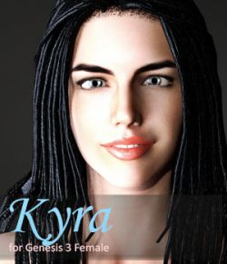 Kyra for Genesis 3 Female