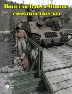 Modular Bailey Bridge Construction Kit