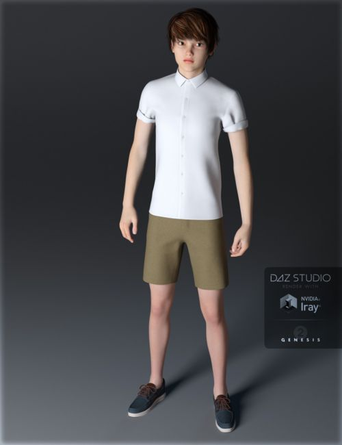 Casual Shorts Outfits Genesis 2 Male(s)