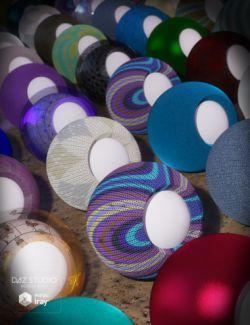 Elegant Fabric Iray Shaders